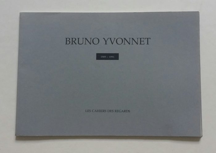publication about Bruno Yvonnet
